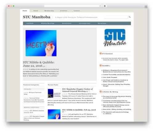 Mimbo premium WordPress theme - stcmanitoba.org