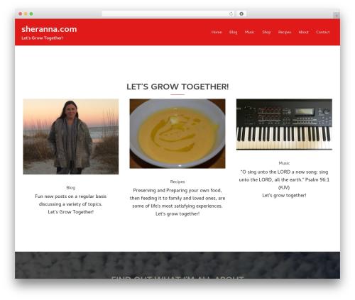 Theme WordPress Child-Sydney - sheranna.com