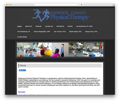 zeePersonal gym WordPress theme - stancampt.com