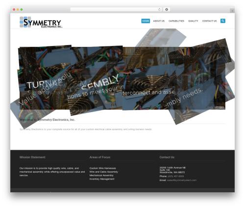 Best WordPress theme System - symmetryelect.com