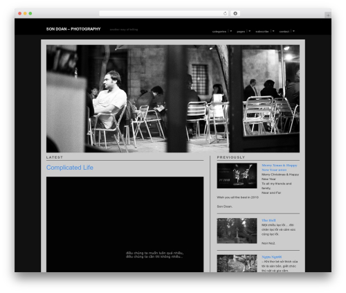 Modularity wallpapers WordPress theme - sondoan.com