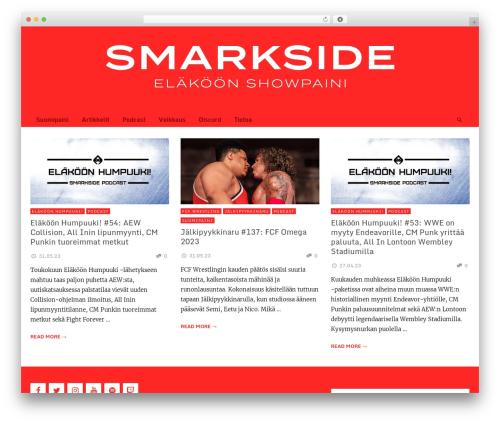 NEUE WordPress page template - smarkside.com