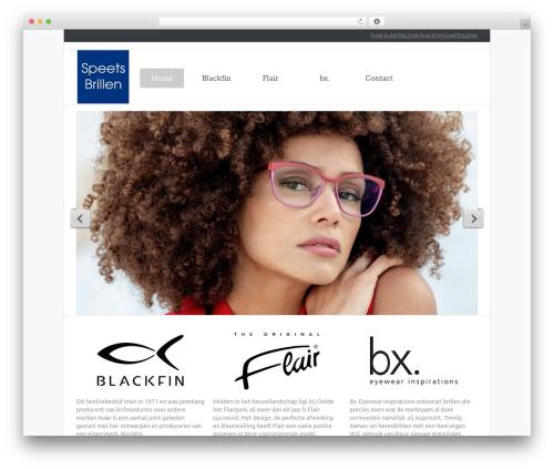 theme1850 template WordPress - speetsbrillen.nl