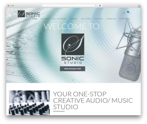 WordPress theme Wp_Haswell - sonicstudio.biz