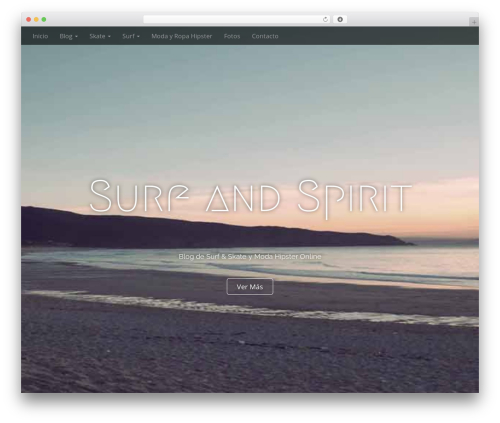 Arcade Basic WordPress theme download - surfandspirit.com