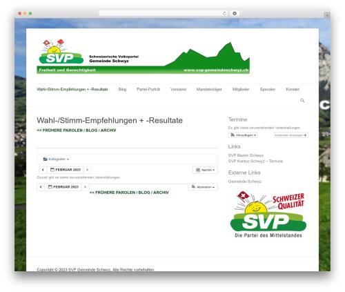 Catch Base Pro WP template - svp-gemeindeschwyz.ch