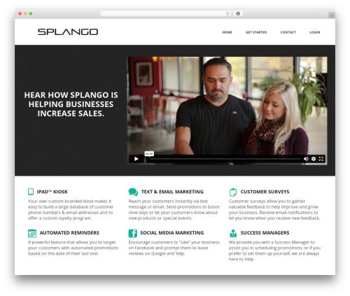 Jupiter WordPress theme - splangomedia.com