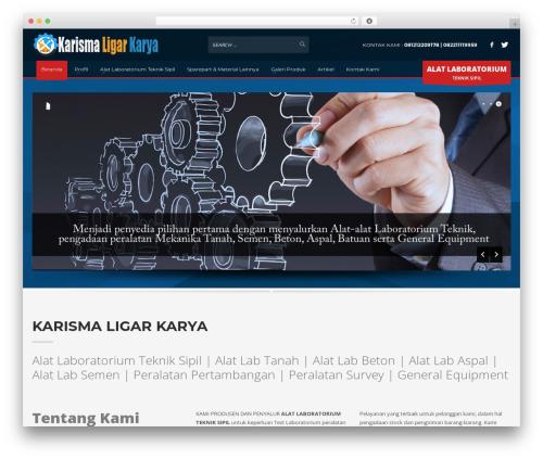 Kallyas WordPress theme - jualalattekniksipil.com