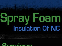 Spray Foam Insulation WP template