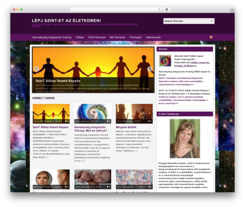 Theme WordPress Arras - szemelyisegintegracio.hu