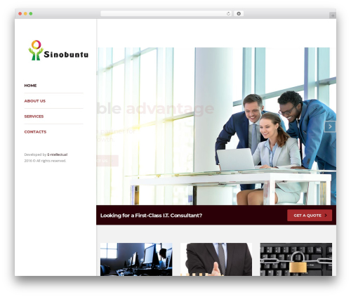 Consulting WordPress template free download - sinobuntu.co.za