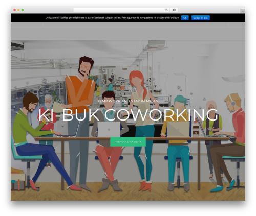 CoWorking WordPress theme - ki-buk.it