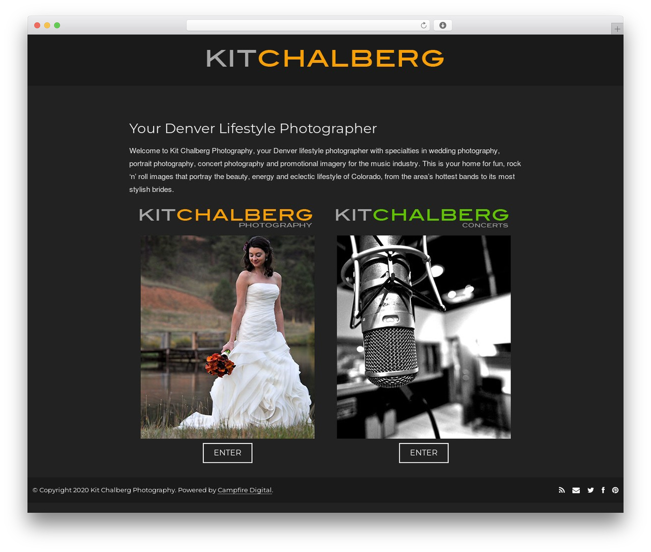 Focal WordPress theme - kitchalberg.com