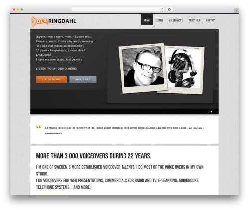 Fusion MSMW WordPress theme - swedishvoice.com