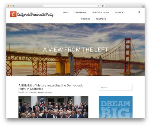 Hit WordPress template free - southcodems.org