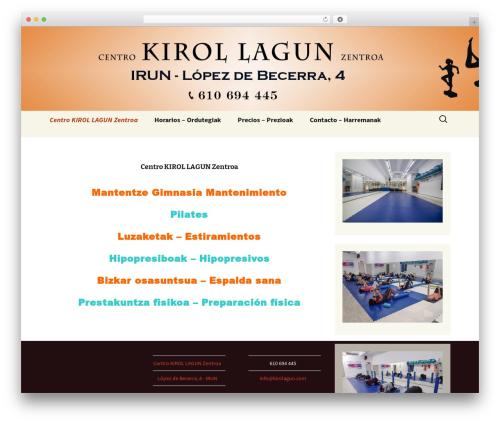 Twenty Thirteen WordPress theme download - kirolagun.com