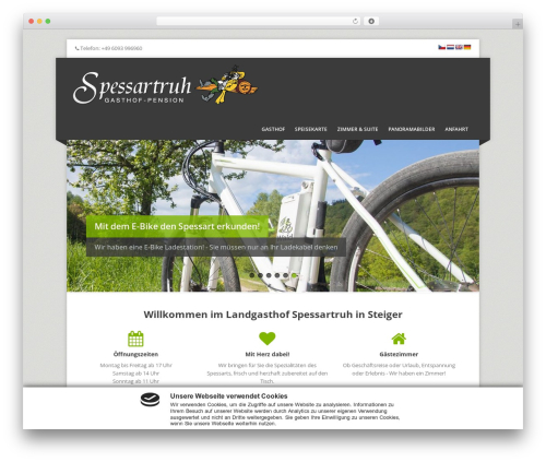Corpo best WordPress theme - spessartruh-steiger.de