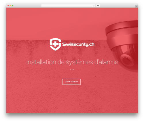 Template WordPress Leafage - swisecurity.ch