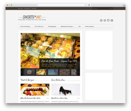 Theme WordPress Bangkok Press - shortynme.com