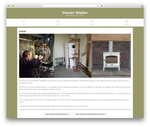 Touch best WordPress template - stevenwalkerheating.co.uk