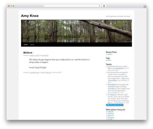 Twenty Ten WordPress template - sister-fire.net