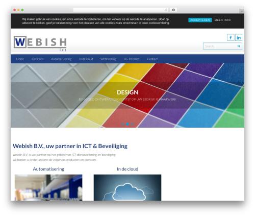 Free WordPress Responsive Cookie Consent plugin - webish.nl