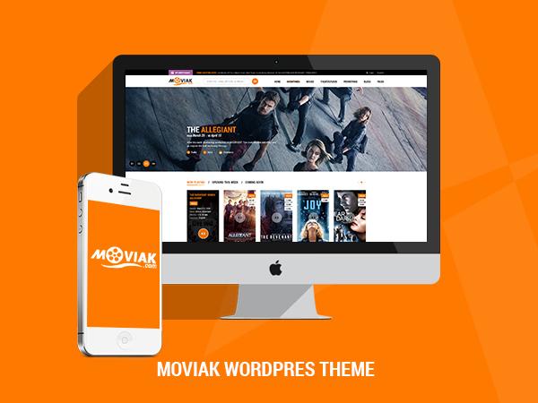 Amy Movie WordPress video theme