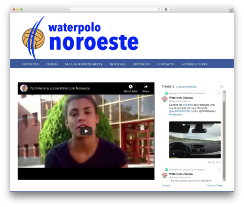 Appointway free WordPress theme - waterpolonoroeste.com