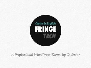 Best WordPress theme Fringe Tech WordPress Theme