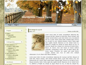 Best WordPress theme Maple Leaf