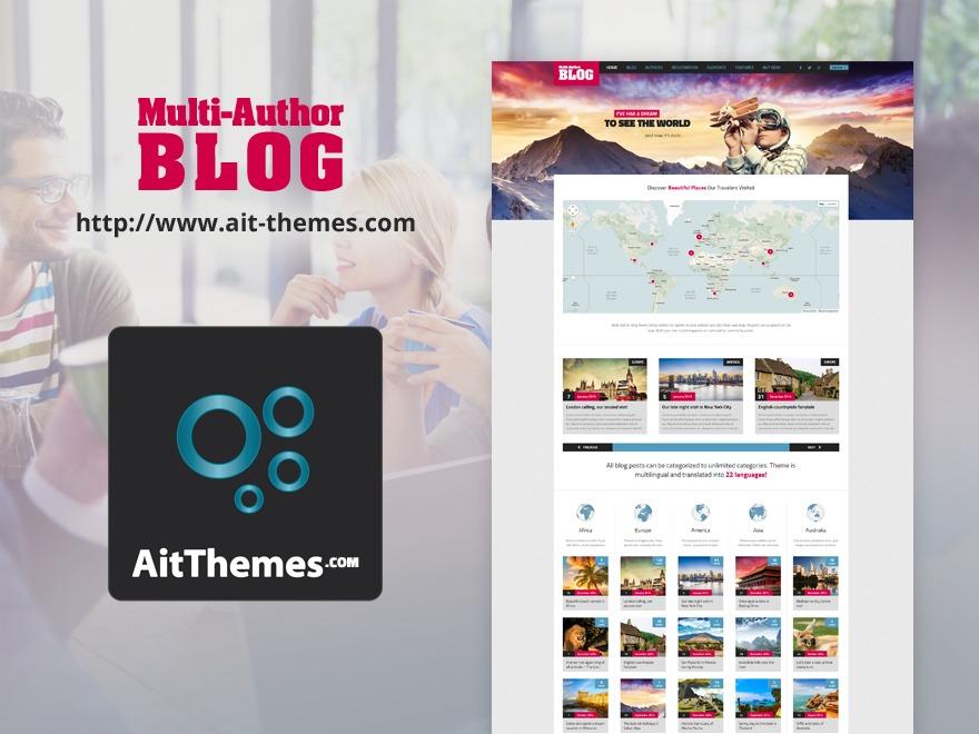 Blog WordPress blog theme