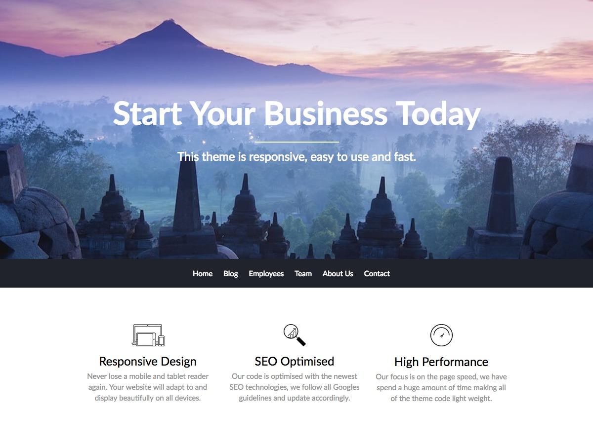 BusinessBuilder WordPress theme free download