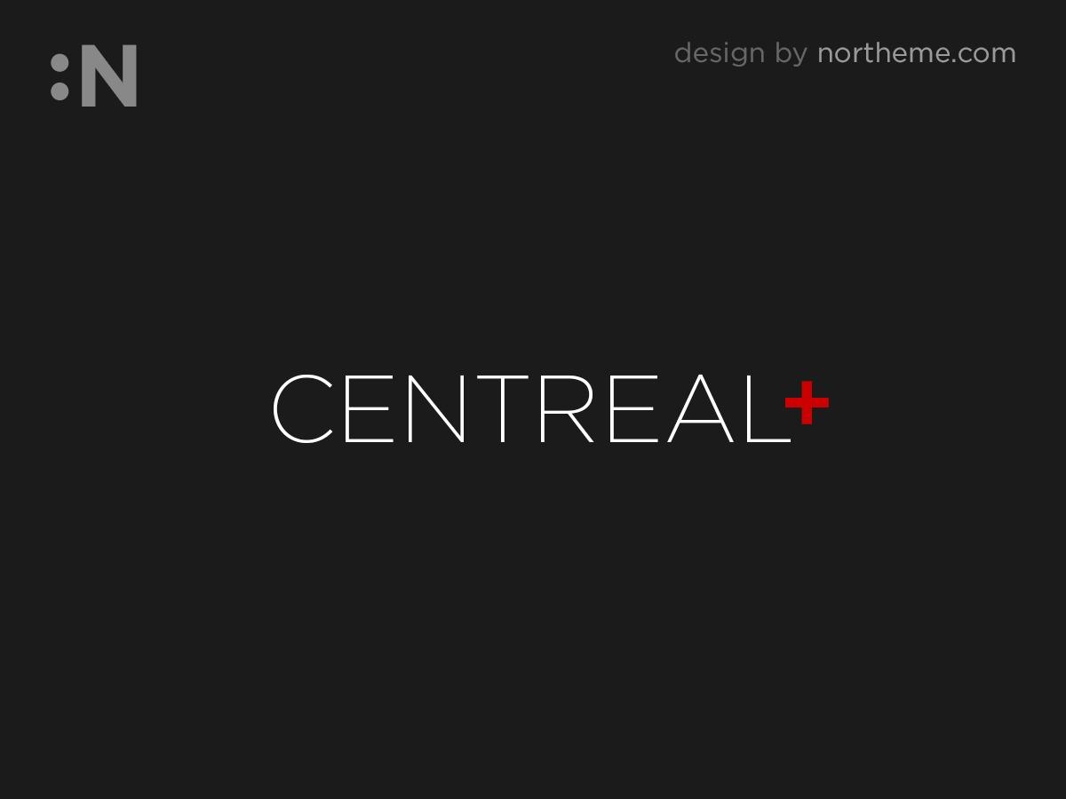 Centreal Plus personal WordPress theme