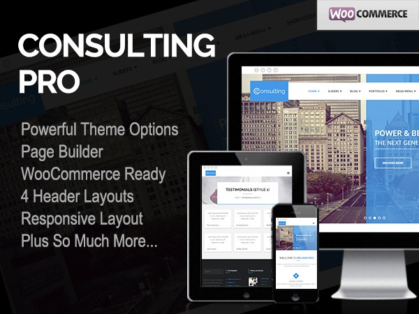 Consulting Pro WordPress blog theme