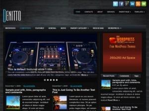 Denitto WordPress blog theme