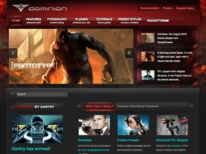Dominion WordPress theme