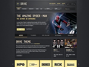 Drive theme WordPress