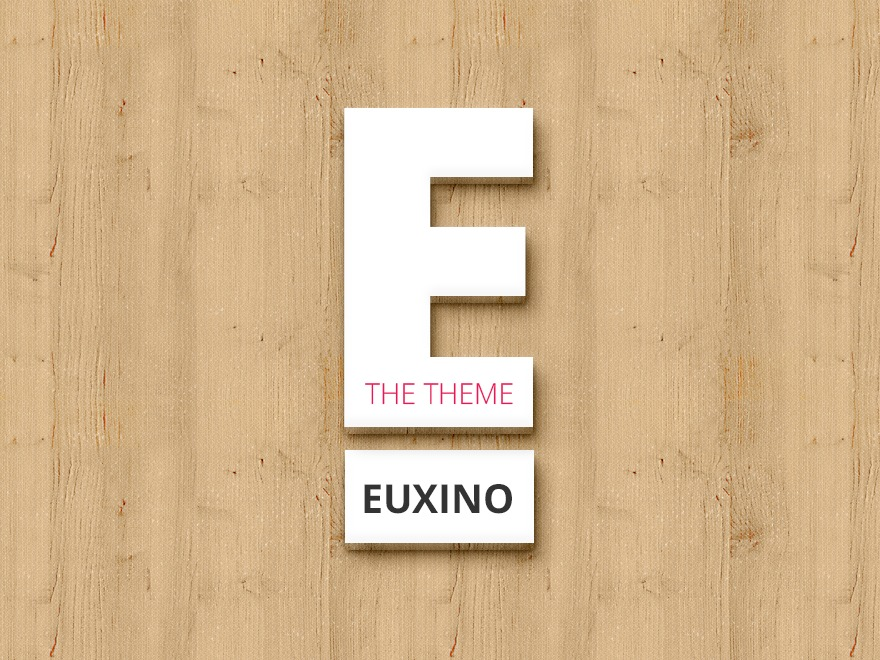 Euxino WordPress shopping theme