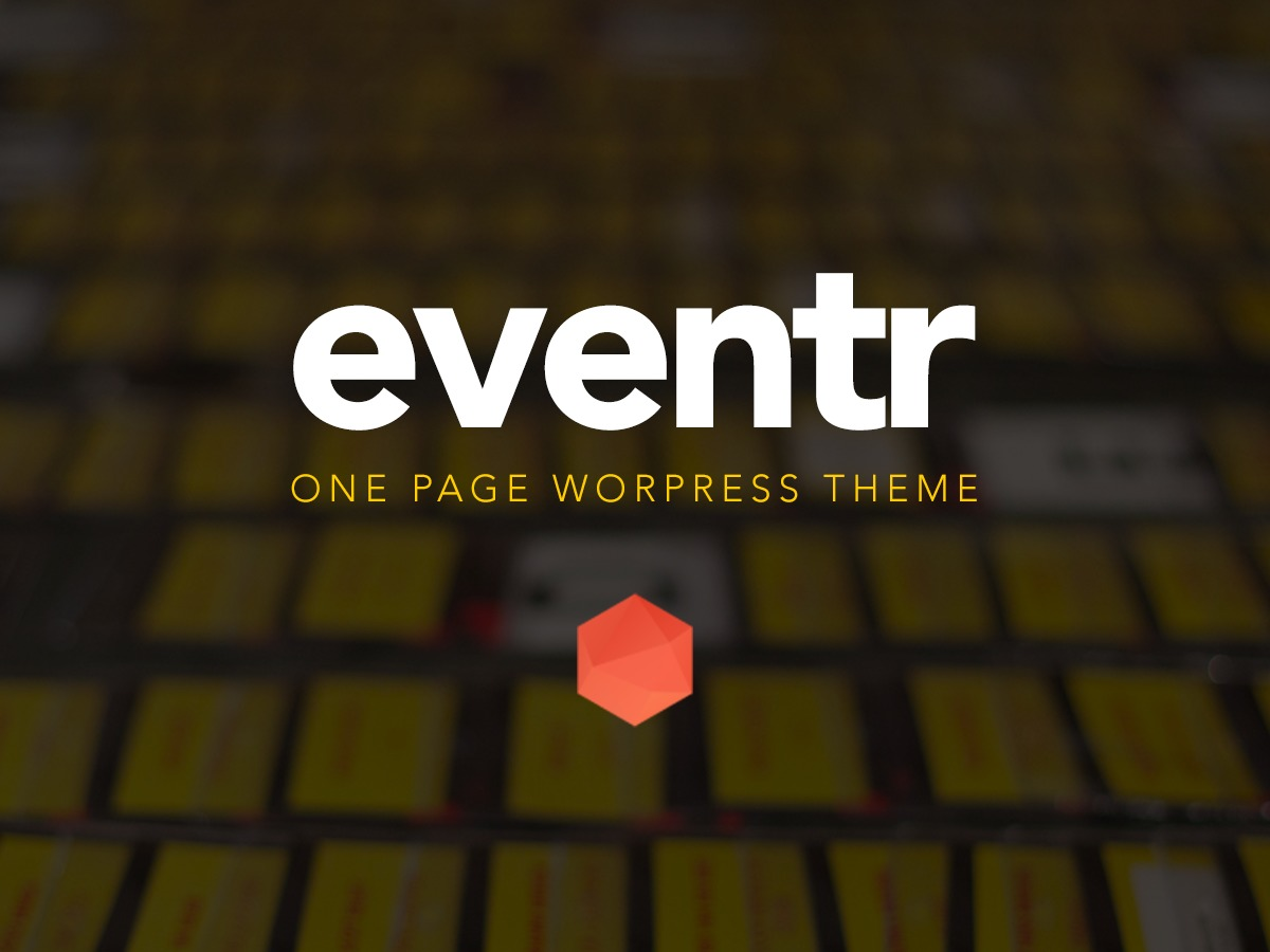 Eventr premium WordPress theme