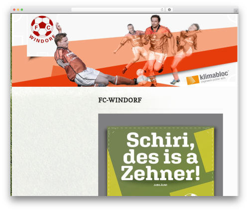 Ex Astris WordPress theme - windorf.at