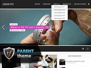 Gadgetry Parent best WordPress template
