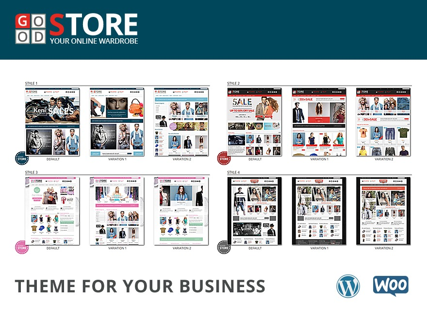 GoodStore Child WordPress ecommerce theme