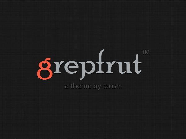 Grepfrut best WordPress theme