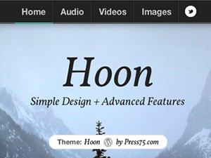 Hoon WordPress movie theme
