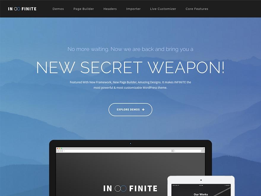 Infinite Child theme WordPress