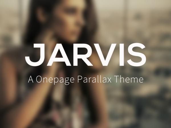 Jarvis 1.5 WordPress portfolio template
