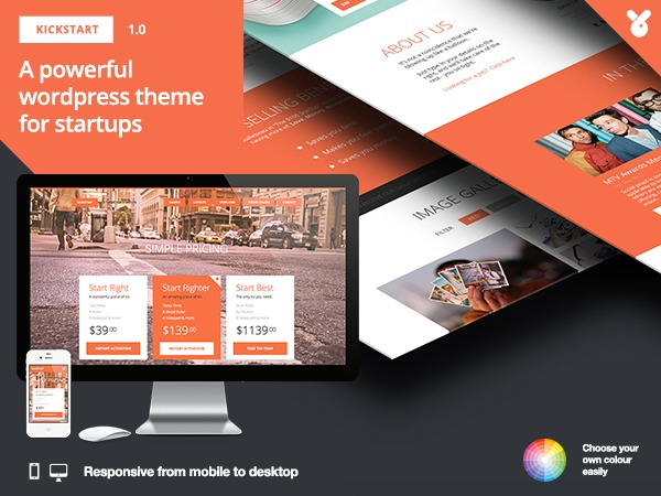 Kickstart Pro WP template