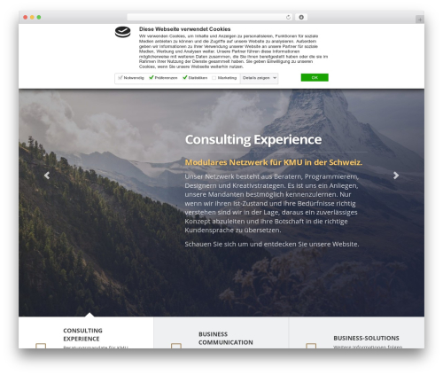 Lawyer by Osetin WP theme - willeconsulting.ch