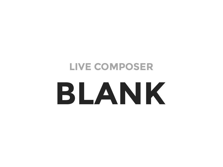 LC Blank WordPress theme design