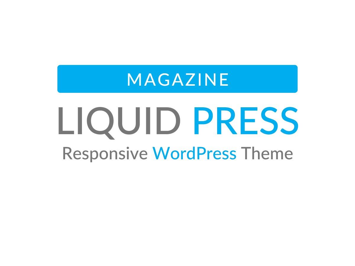 LIQUID MAGAZINE newspaper WordPress theme